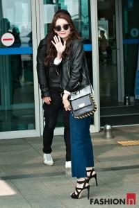 少女時代ユンアの最新空港ファッションがかわいい♡