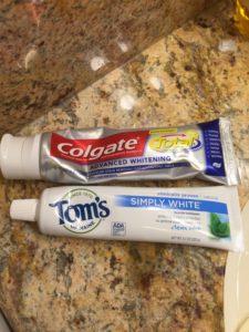 ハワイのおすすめ歯磨き粉♡コールゲートとTom's